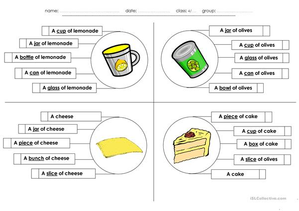 The Foods I Eat _ Multiple Choice