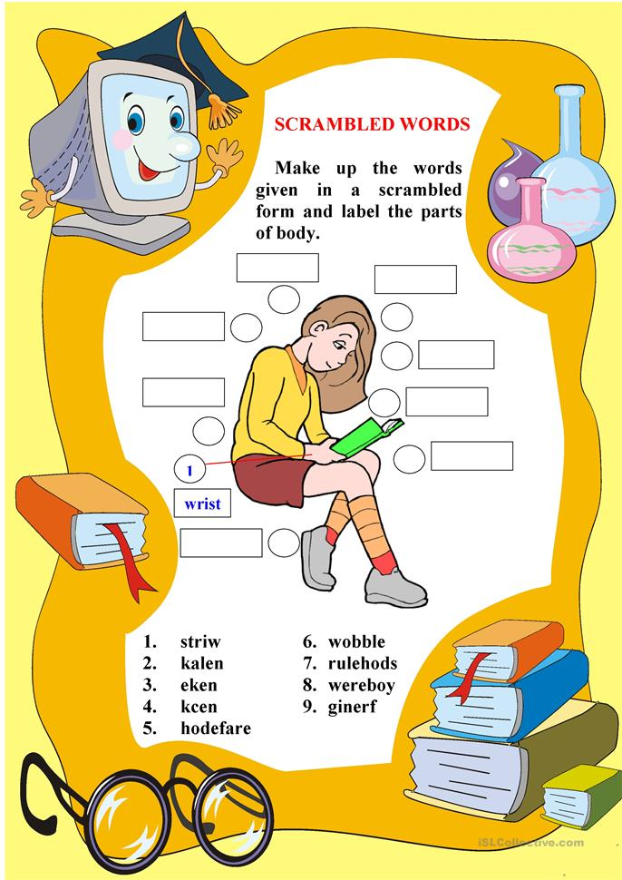 Describing People - ESL worksheets