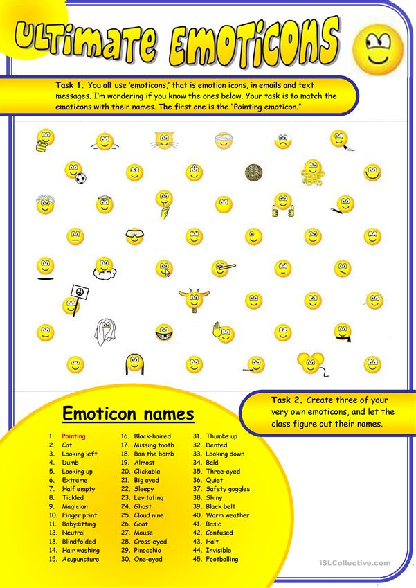 Ultimate Emoticons