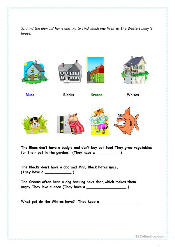 Word games with animals