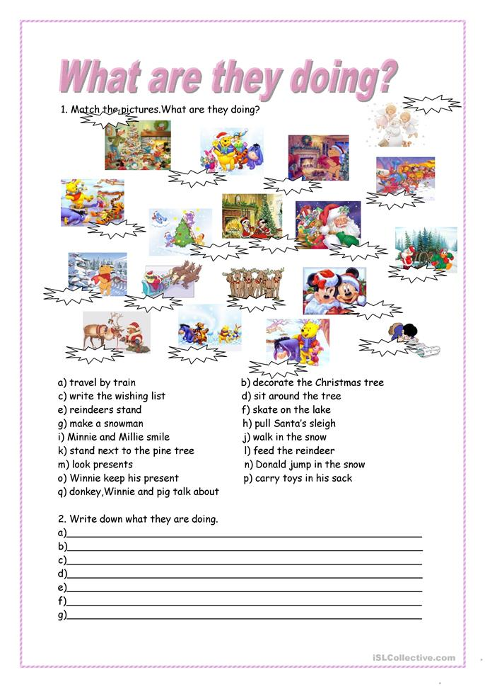 Printables Present Progressive Worksheets 738 free esl present continuous worksheets what are they doing by meva continuous