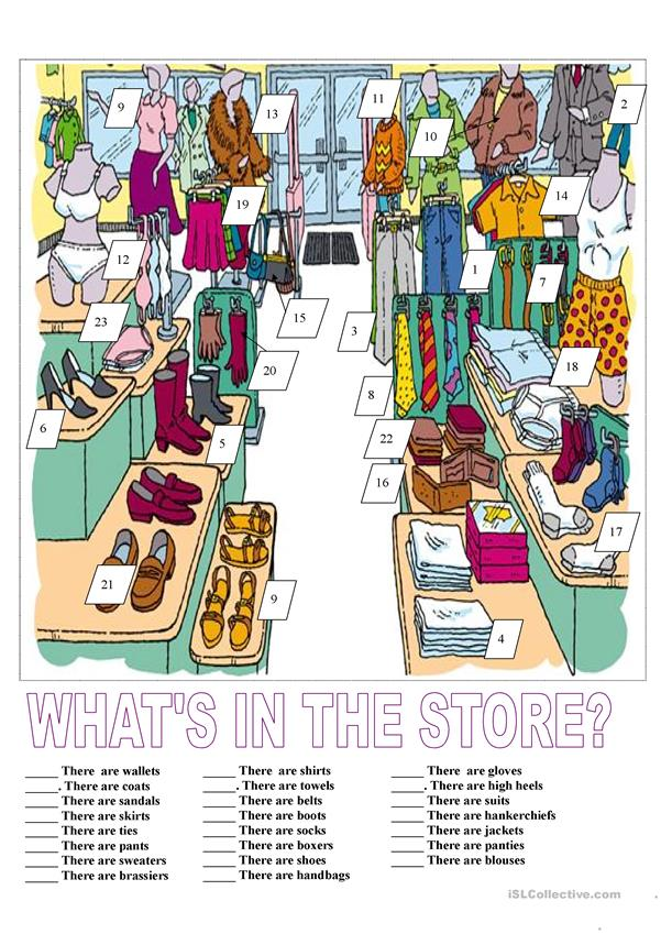 What's in the store?