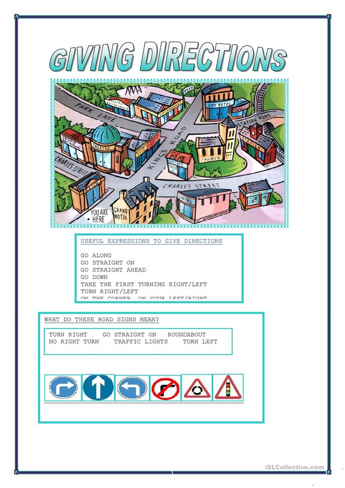 47 FREE ESL Prepositions of movement worksheets