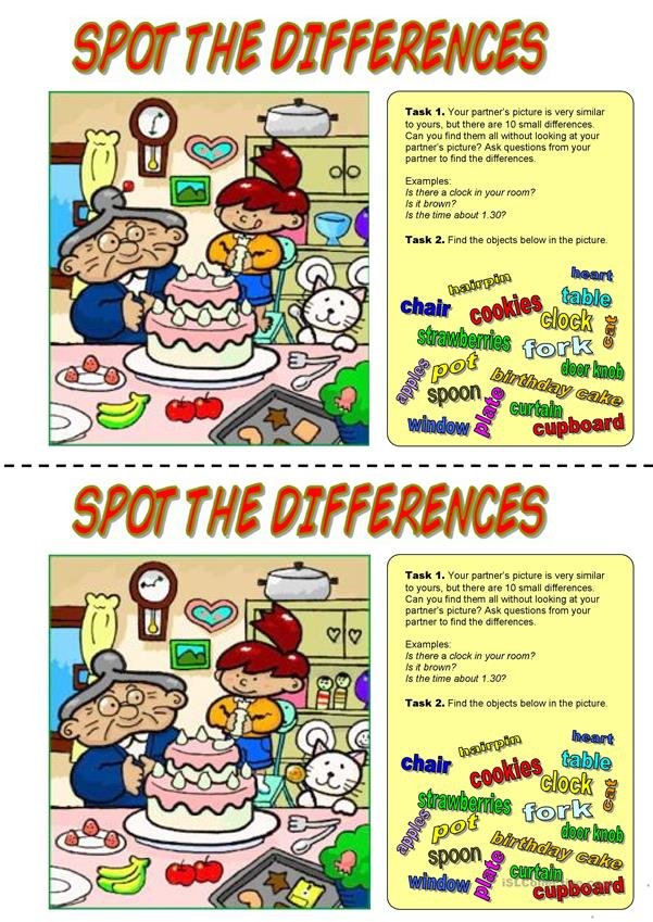 Spot the differences. Happy Birthday!