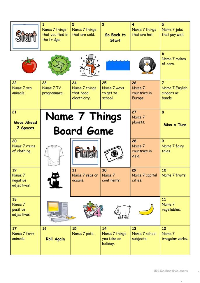 board game name 3 things hard worksheet free esl printable worksheets made by teachers. Black Bedroom Furniture Sets. Home Design Ideas
