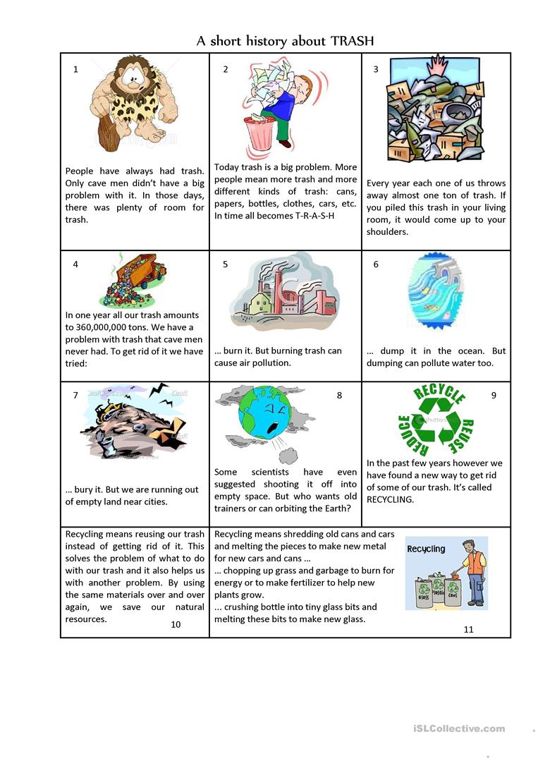 worksheet Air Pollution Worksheet 55 free esl pollution worksheets a very short history of trash