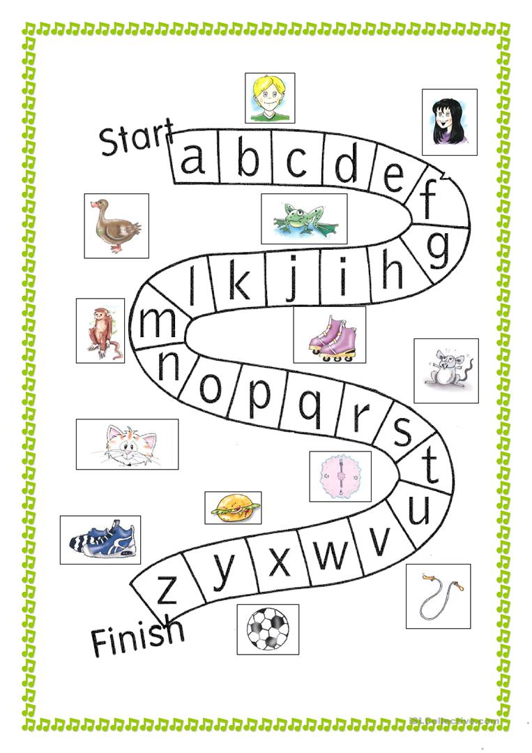 - Abc Game - English ESL Worksheets For Distance Learning And
