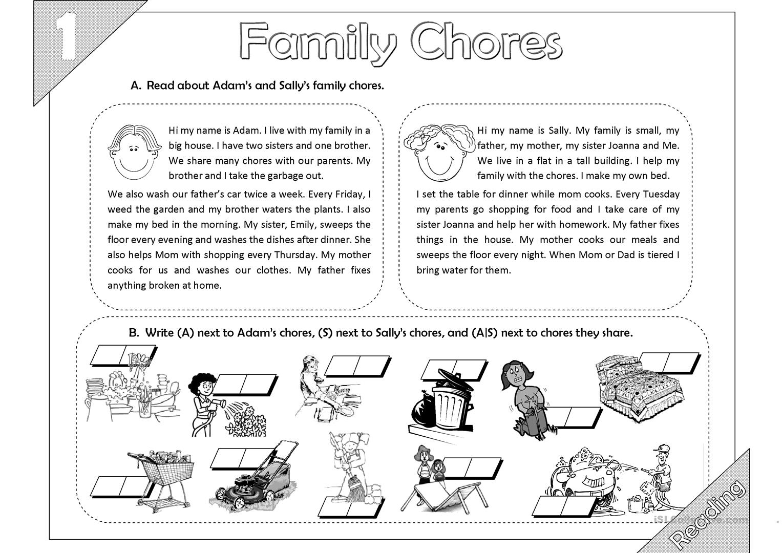 how i help my mother in house hold chores Chores are going to help you out and they are incredibly good for children as well chores are helpful to kids besides helping out the parents and the flow of the home, chores are helpful to children in some obvious and also some surprising ways.