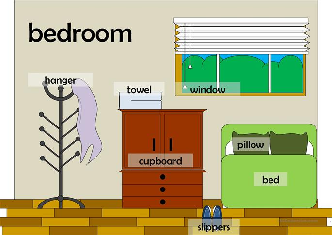 Rooms in a house flashcards worksheet free esl printable worksheets made by teachers