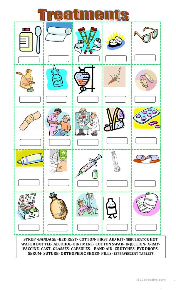 Worksheets First Aid Worksheets 43 free esl fill in the blank worksheets treatments blanks