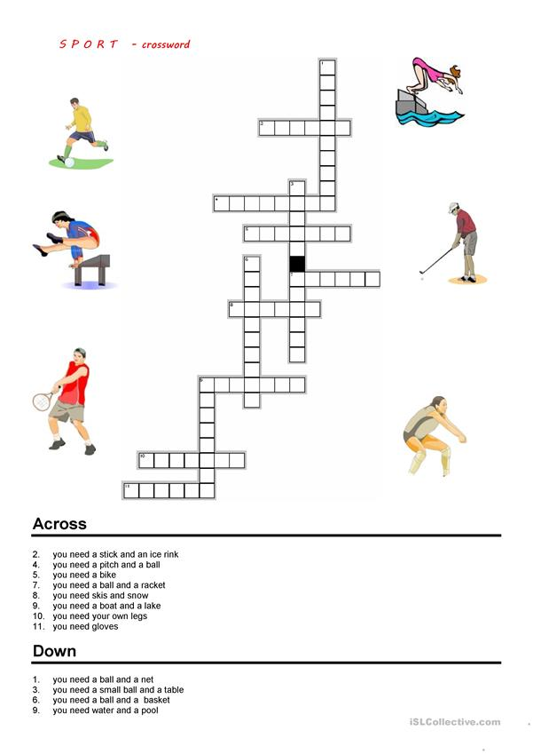 sport - crossword