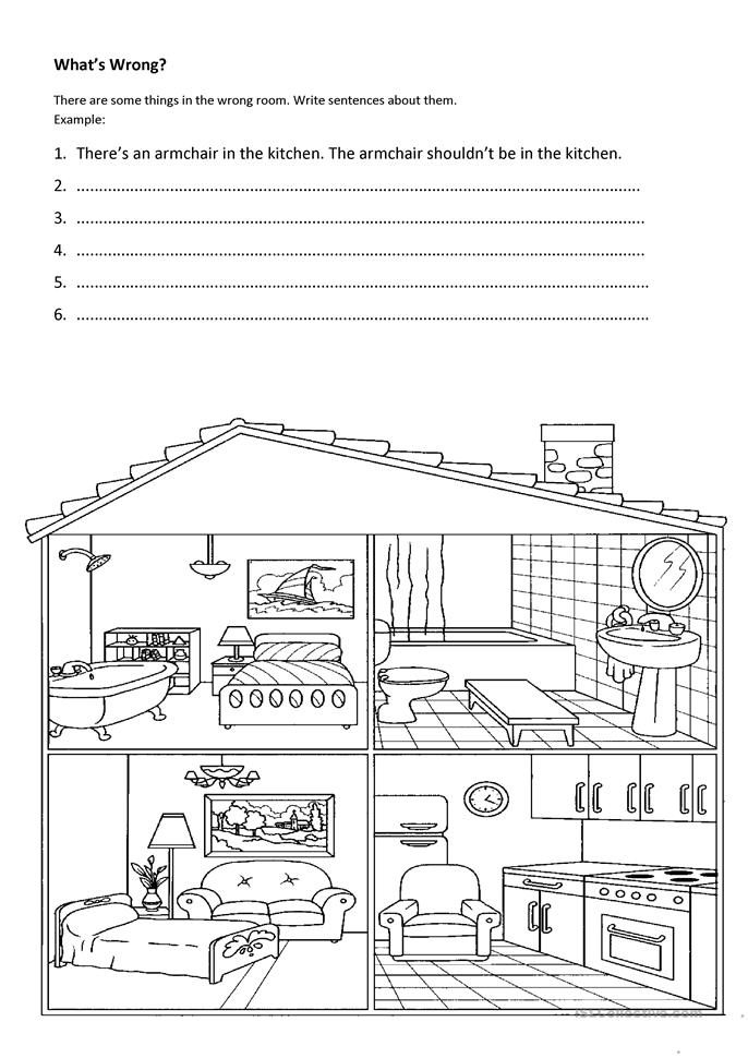 What's wrong? - ESL worksheets