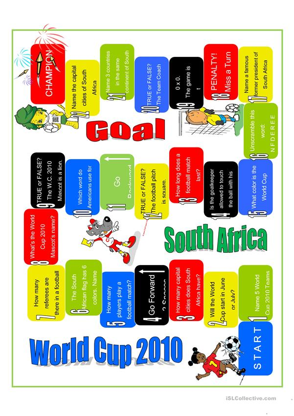 Boardgame-World Cup 2010