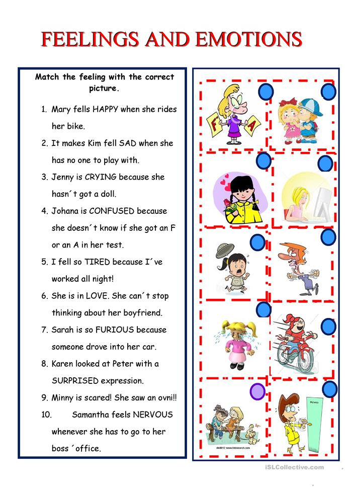 Worksheet Emotions Worksheets 572 free esl feelings emotions worksheets and emotions