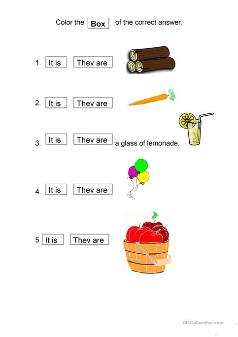It is - They are worksheet - Free ESL printable worksheets made by ...