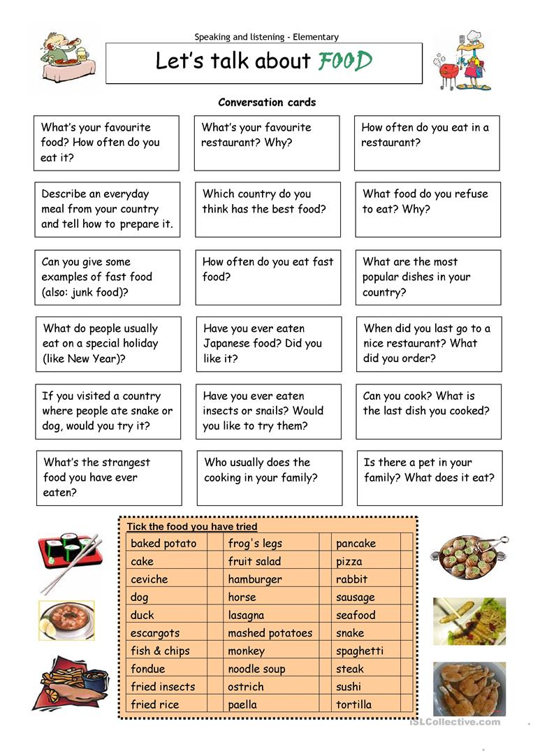 Worksheets Esl Worksheets For Adults 24823 free esl worksheets for adults lets talk about food