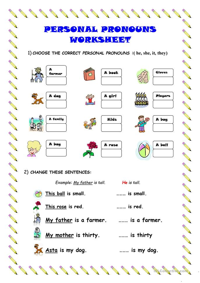 Printables Personal Pronouns Worksheet personal pronouns worksheet free esl printable worksheets made by teachers