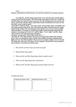 English ESL reading practice worksheets - Most downloaded (32 Results)