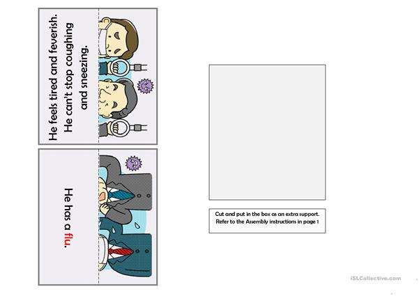 What\'s the problem? [Sentenc Matching Activity Cards]