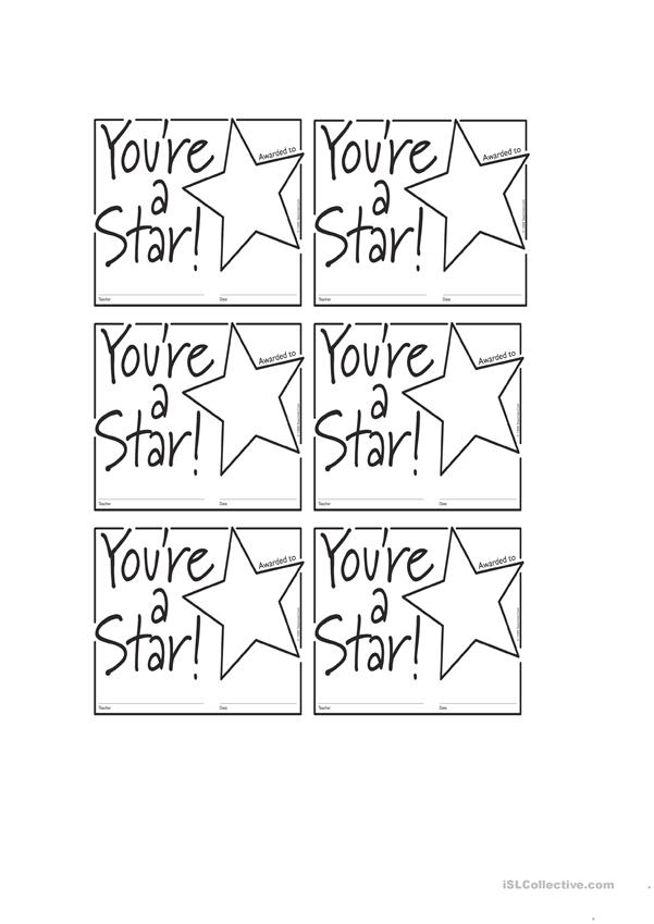 You`re a star