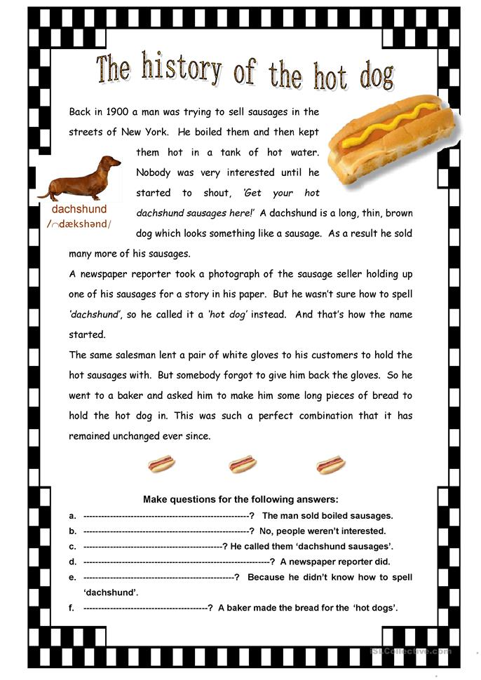 Hot Dog Trivia Facts