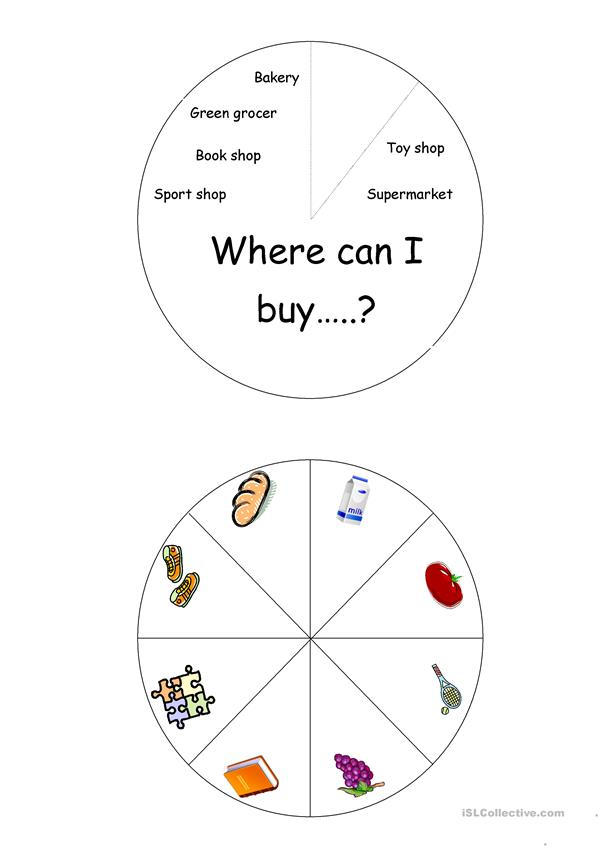 shopping wheel