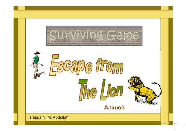 Surviving Game: Escape From The Lion [Animals]