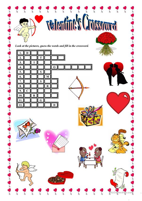 VALENTINE'S CROSSWORD