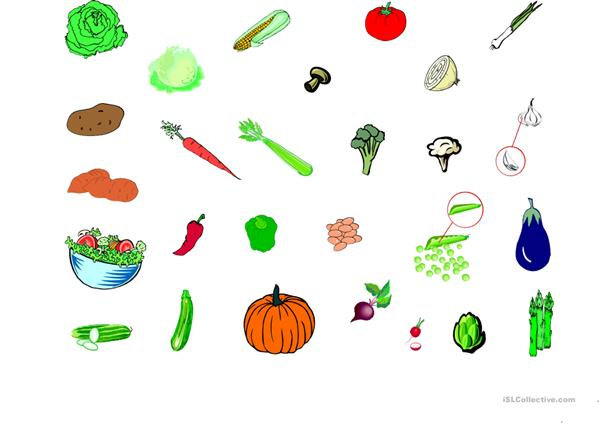 Vegetables and Foods