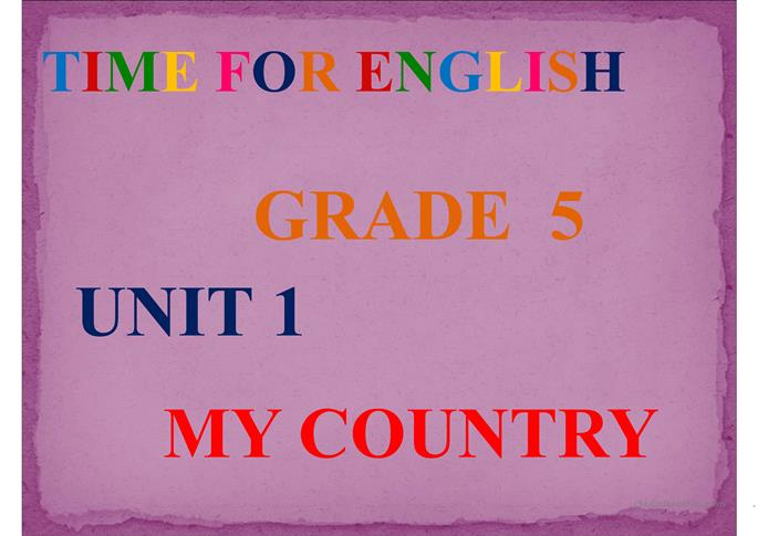 COUNTRIES - ESL powerpoints