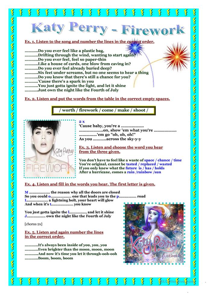 Cursive M besides Big Directions Worksheet also Big Islcollective Worksheets Elementary A Preintermediate A Students With Special Educational Needs Learning Difficulties A Fa A further Mrmessy in addition Big Song Worksheet Katy Perry Firework. on letter w worksheets