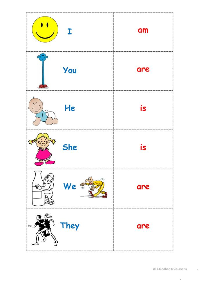 To be: *Five* pages. Includes lesson ideas. - ESL worksheets