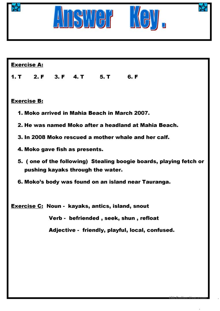 Uncategorized Island Of The Blue Dolphins Worksheets reading moko the dolphin worksheet free esl printable worksheets full screen