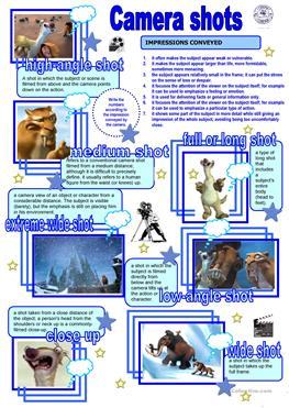 Camera shots  angles and movements  Filmmaking Guide besides  moreover Movie Shot List Template for MS EXCEL   Excel Templates furthermore 4 FREE ESL camera worksheets moreover Camera Shots Storyboard by sarah as well Crowd Photography Worksheets For High Students Types Of likewise Art Worksheets   Crayola Teachers additionally Framing   deepoceanstoryboards in addition English worksheets  Camera shots and angles additionally Camera Shots     picswe together with Hollywood Camera Work    Shot Designer    Main moreover Camera shots angles and movements pdf   Close Up   Camera also Camera angles and shots with KEY    ESL worksheet by dailcroix moreover High Angle Shot  Creative Ex les of Camera Movements   Angles further Camera shots and Angles by Media and English corner   Teaching in addition Unled. on camera shots and angles worksheet