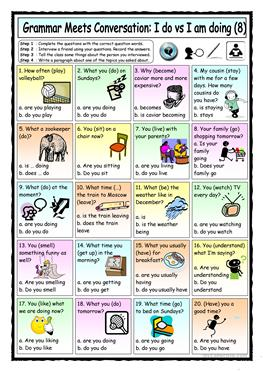 English Esl Present Simple Tense Worksheets Most Downloaded 3498 Results Page 12