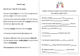 28 free esl listening exercise worksheets listening exercise alphabet numbers ibookread PDF