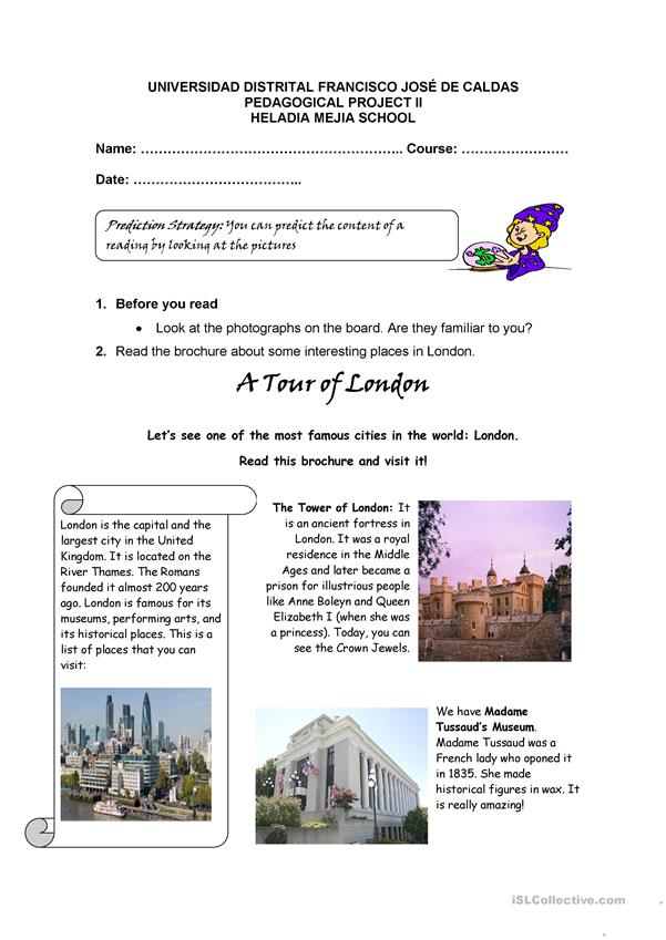 A tour of London