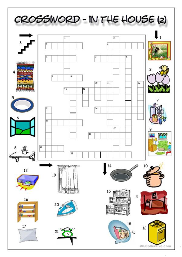 Crossword - In the house (2)