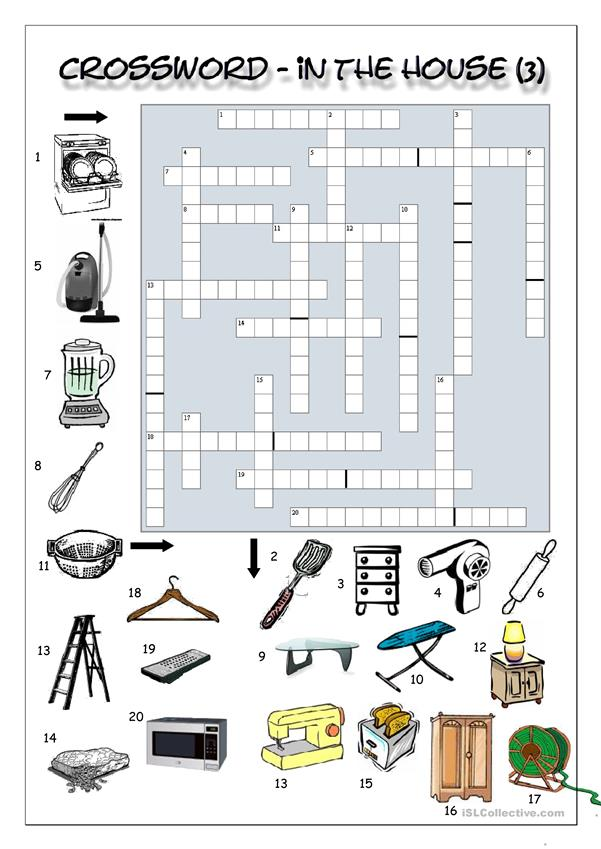 Crossword - In the house (3)