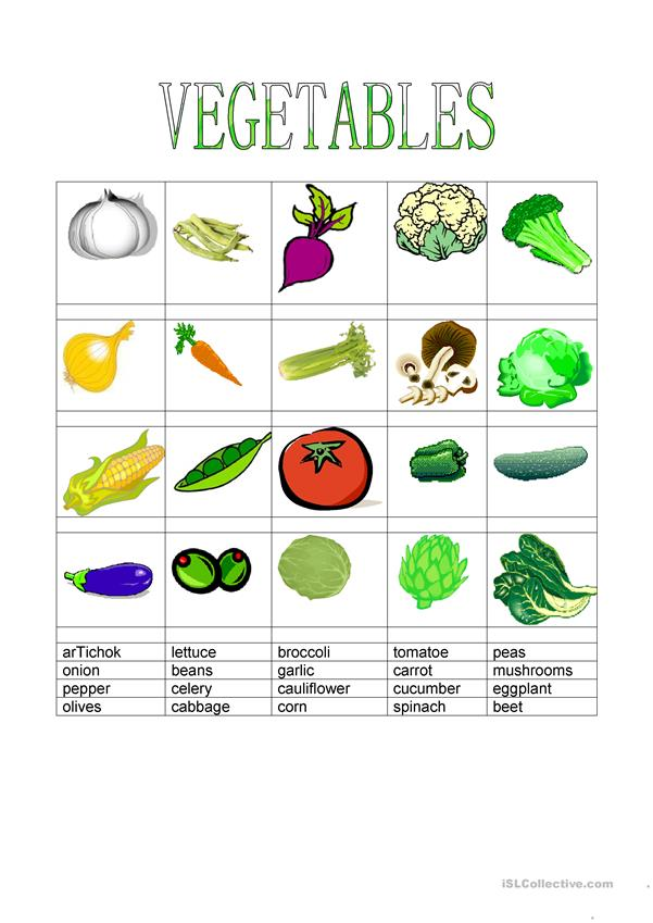 Food - Vegetables