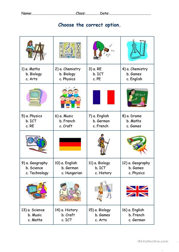 subjects-puzzles-2 pages