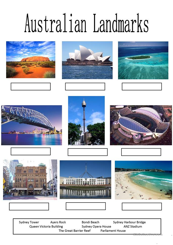 ... Landmarks worksheet - Free ESL printable worksheets made by teachers