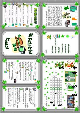 photograph relating to St Patricks Day Printable called English ESL St.Patricks working day worksheets - Utmost downloaded