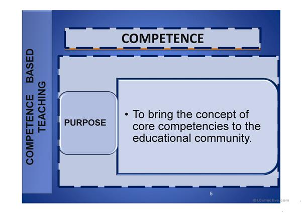 Competence Workshop