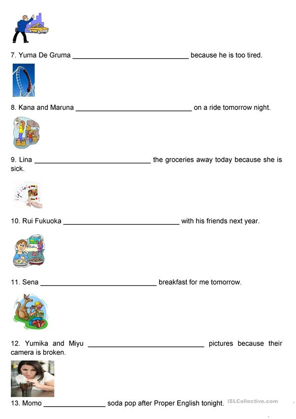 Future Tense Using 'will'