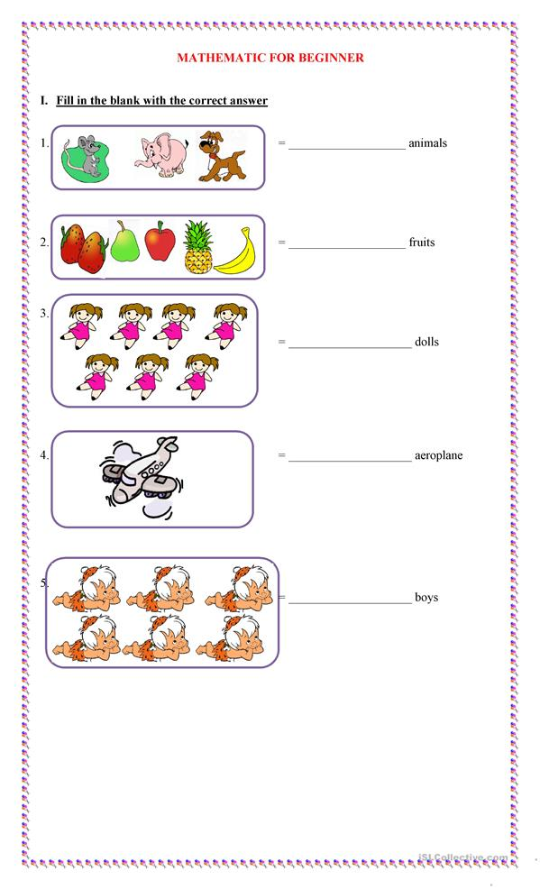Printables Esl Math Worksheets 90 free esl math worksheets math
