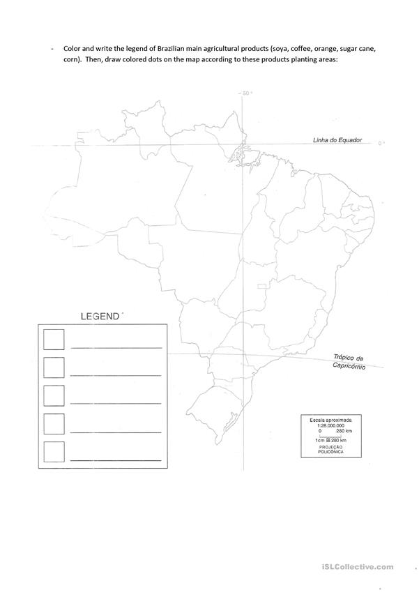 Brazil Agricultural products