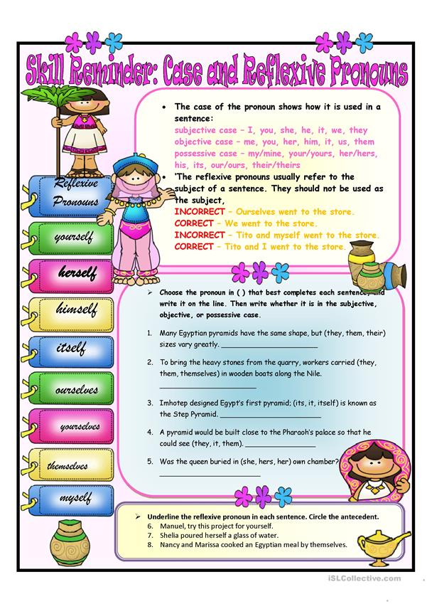 Case and Reflexive Pronouns