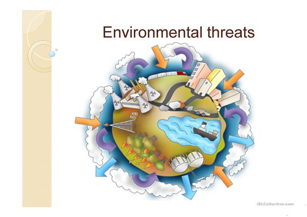 Environmental threats (PowerPoint)
