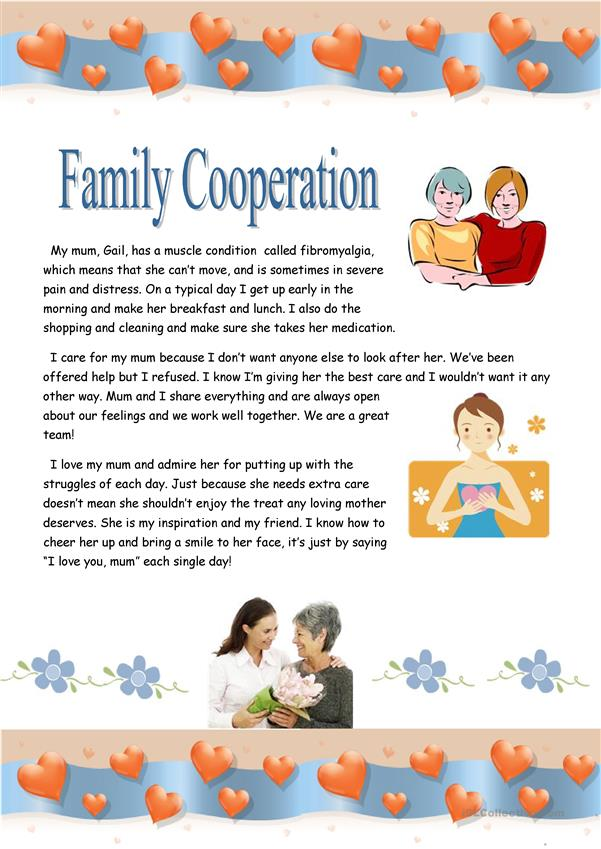 Family cooperation